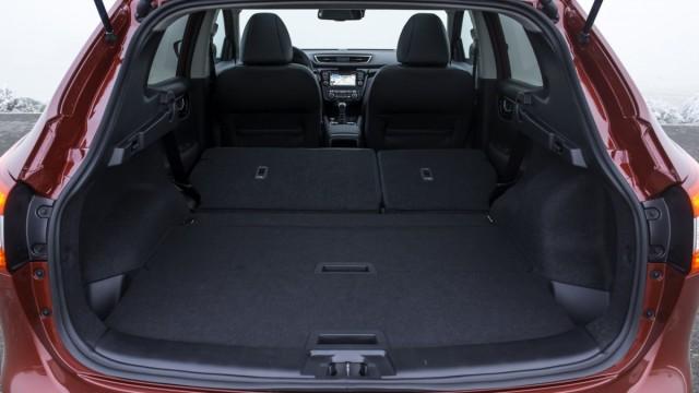 Der Kofferraum des Nissan Qashqai ist um 20 Liter gewachsen.