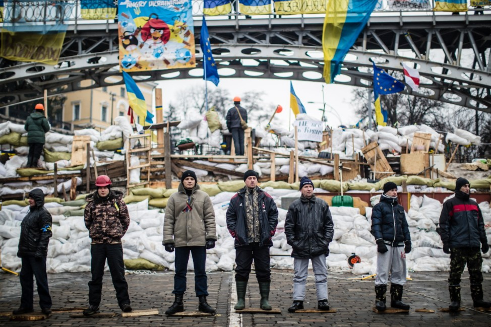 BESTPIX Ukraine Protests Continue As Financial Deal Hangs In The Balance