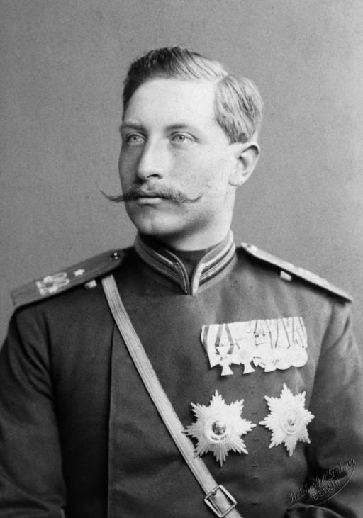 Kronprinz Wilhelm, 1885