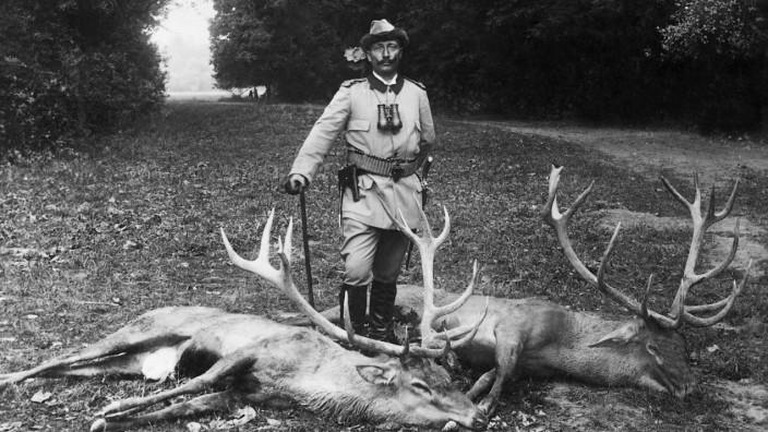 Kaiser Wilhelm II. als Jäger