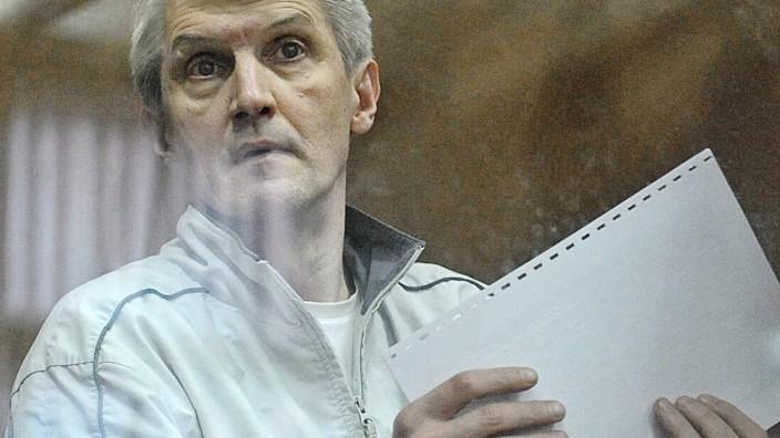 Chodorkowski Partner Lebedew kurz vor der Freilassung