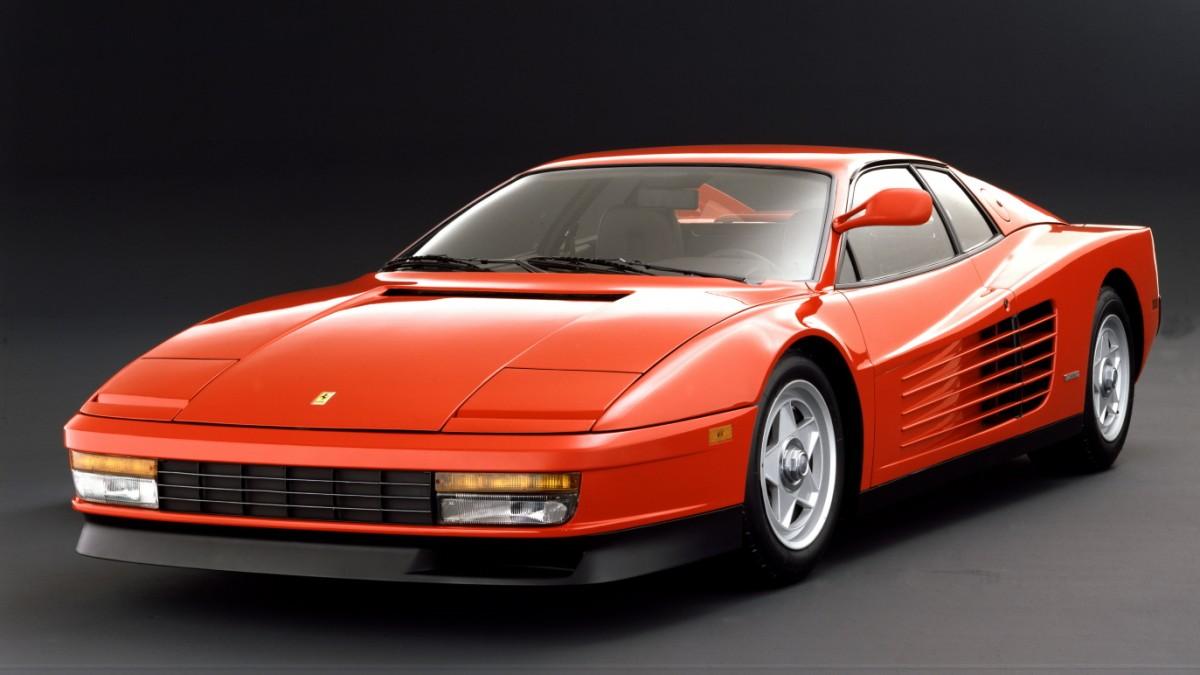 30 Jahre Ferrari Testarossa Sonny Crocketts Ufo Auto Mobil Sz De