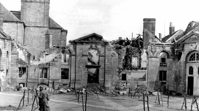 Erster Weltkrieg - Verdun Ruinen