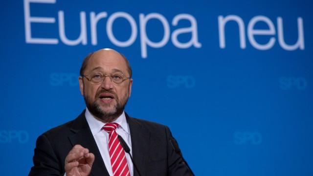 Europawahl Martin Schulz