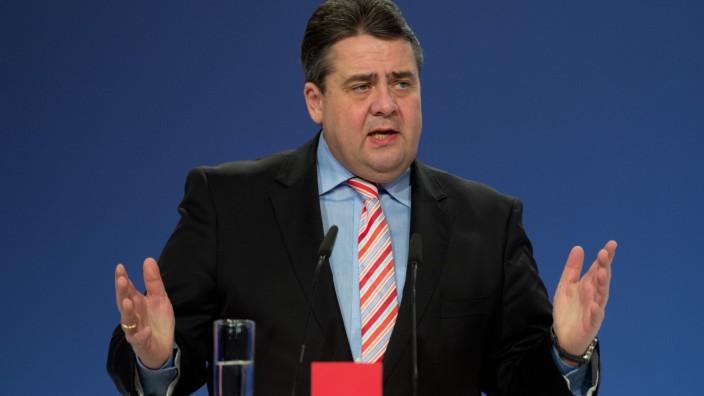 SPD-Sonderparteitag Sigmar Gabriel