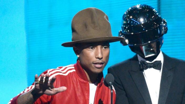 Grammys Los Angeles Daft Punk Pharrell Williams
