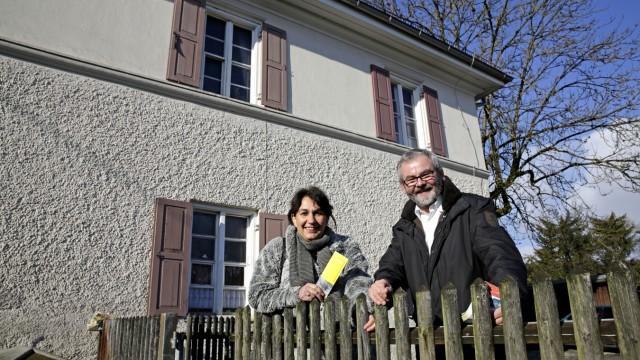 Historischer Verein: Sybille Krafft , Vorsitzende des Historischen Vereins und ihr Stellvertreter Bernhard Reisner