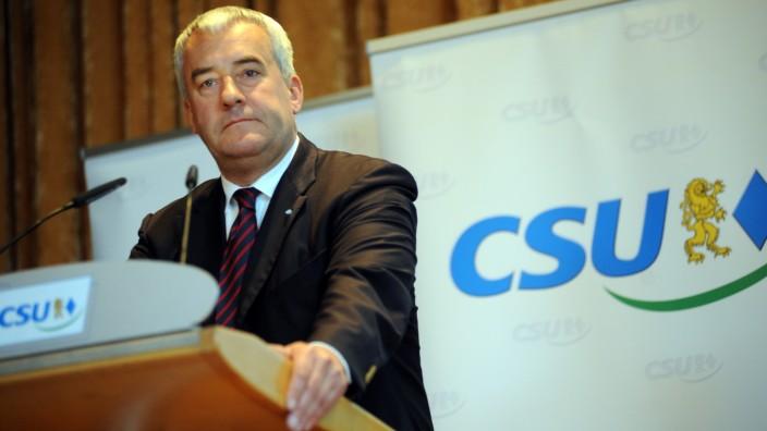 Ludwig Spaenle bei CSU Listenaufstellung für Kommunalwahl in München, 2013.