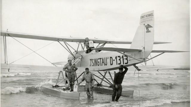 """Wasserflugzeug von Gunther Plüschow, """"Tsingtau"""""""