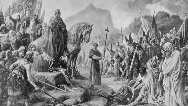 Missionierung durch Karl den Großen