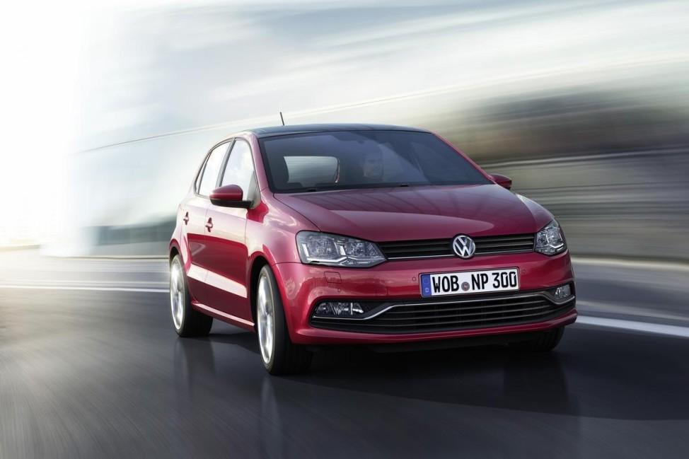 VW Polo 2014 - Frontansicht Fahrbild