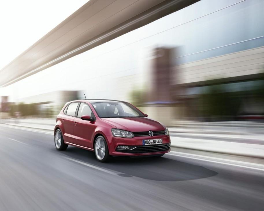 VW Polo 2014 - Frontansicht Fahrbild 2