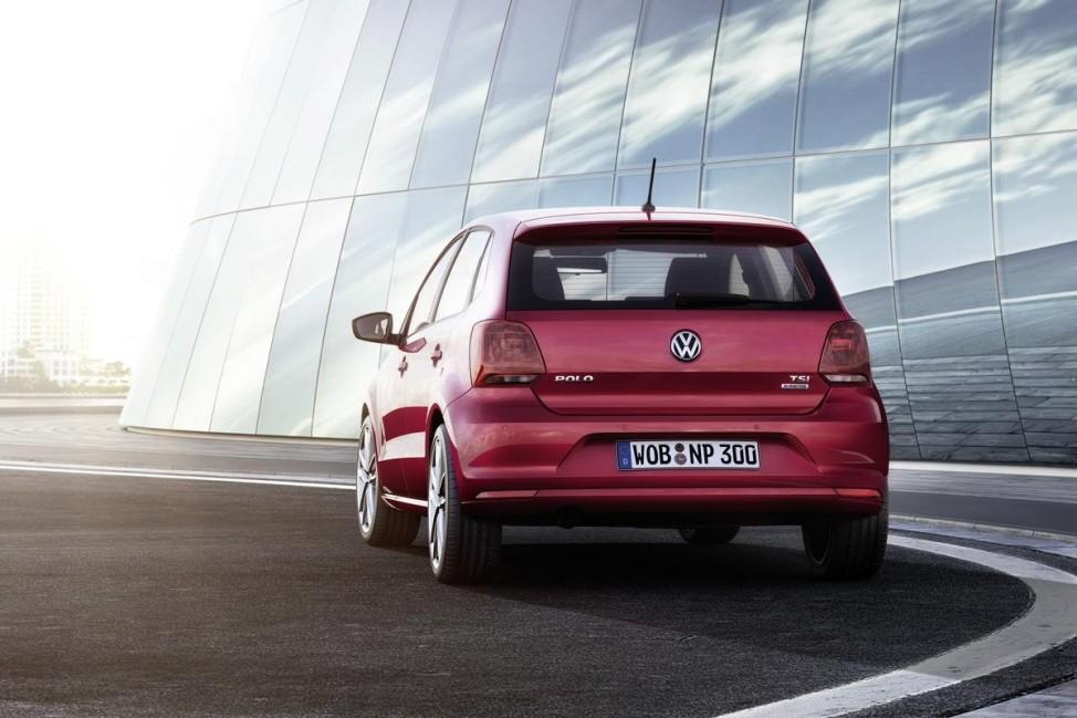 VW Polo 2014 - Heckansicht Standbild