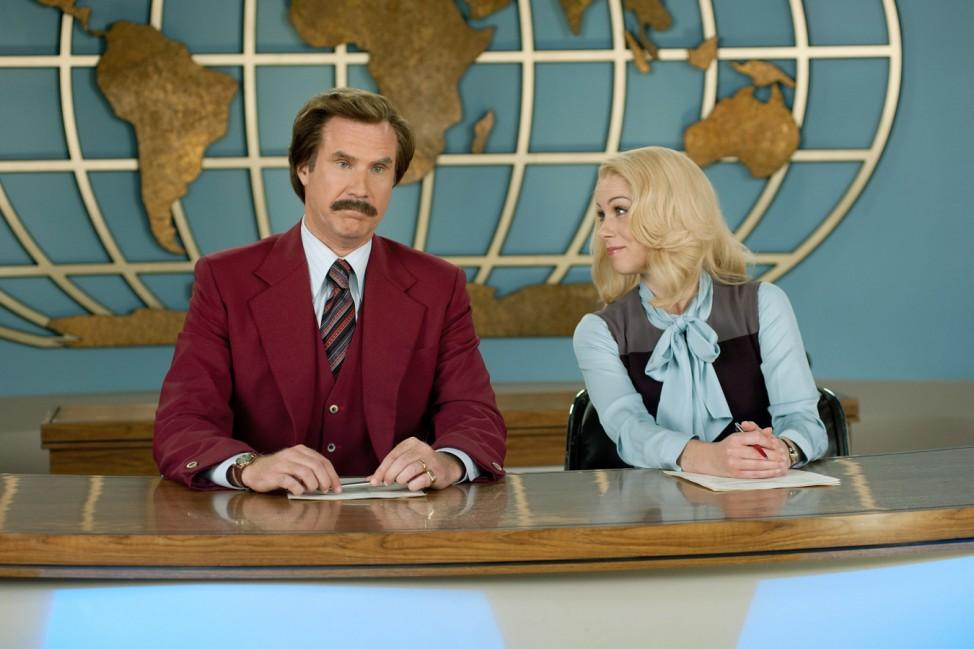 "Will Ferrell als ""Anchorman"" im Kino"