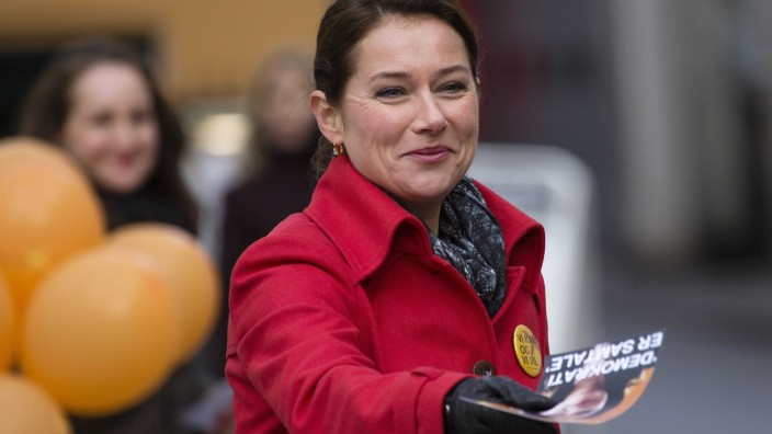 "Sidse Babett Knudsen in TV-Serie ""Borgen"""