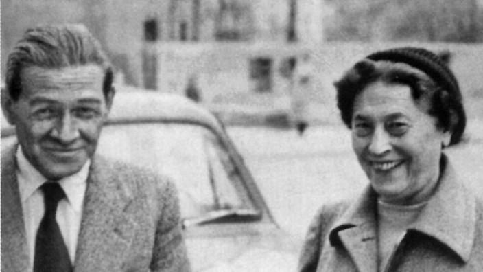Gaito Gasdanow mit seiner Frau Faina in München (60er Jahre)