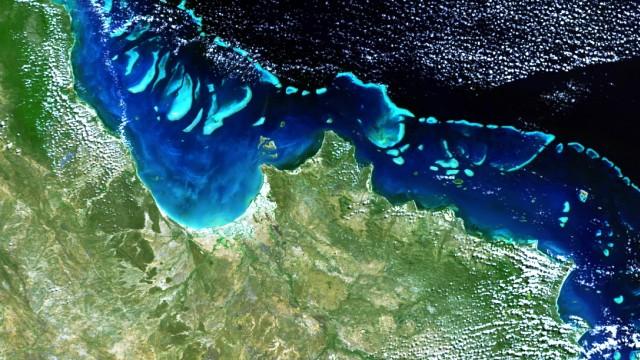 Barrier Reef off Australia's Queensland coast