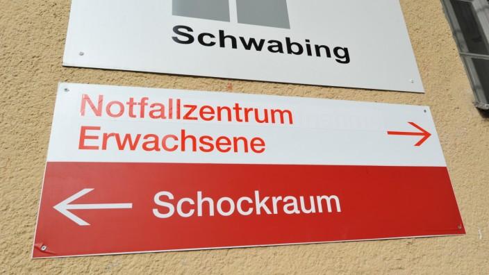 Klinikum Schwabing Schild