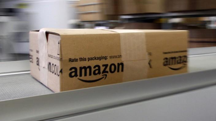 Amazon-Vertriebszentrum in Graben bei Augsburg