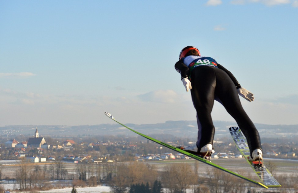 Ski Jumping World Cup in Hinzenbach
