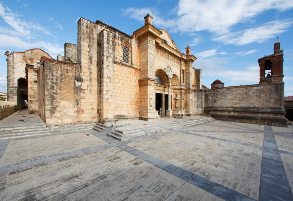 """Bei der ´Unvollendeten"""": Santo Domingos Altstadt"""