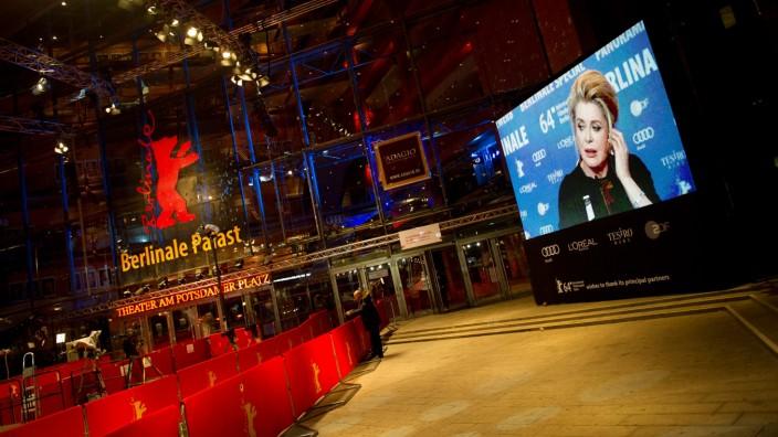 64. Berlinale - Pressekonferenz Catherine Deneuve