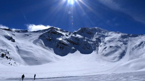 Paradiski Frankreich Les Arcs La Plagne Alpen Ski