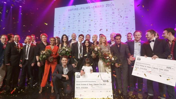 99 Fire Film Awards 2014 Berlinale