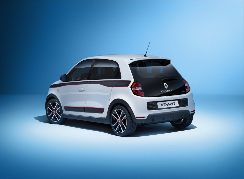 Das Heck des neuen Renault Twingo