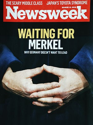 Angela Merkel Cover, Newsweek