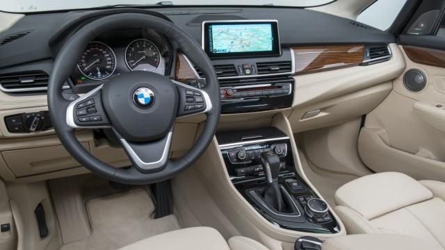 Der Innenraum des BMW 2er Active Tourers.
