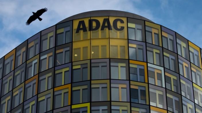 Das ADAC-Hauptgebäude in München