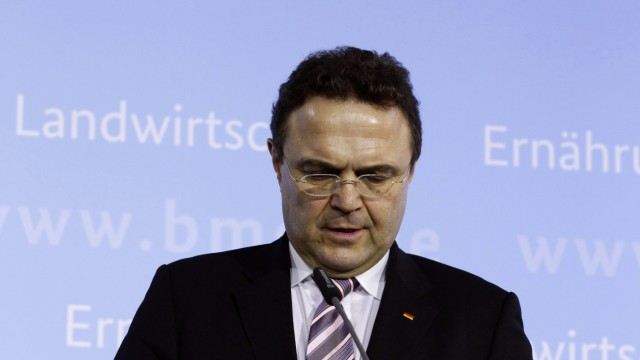Germany's Agriculture Minister Friedrich announces his resignation in Berlin