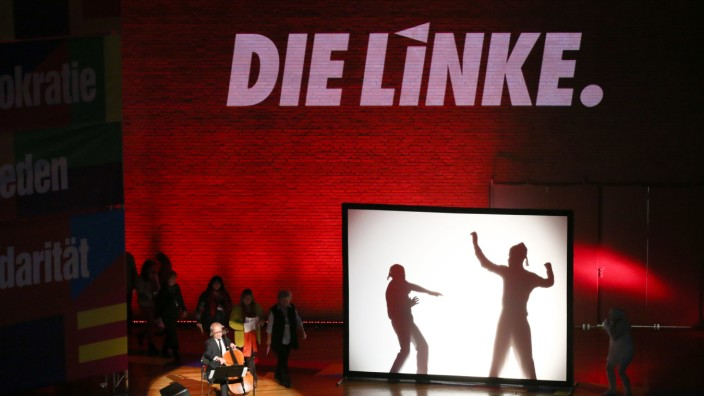 Bundesparteitag Die Linke in Hamburg