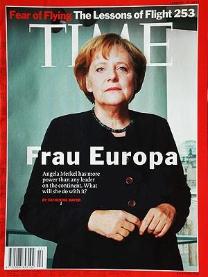 Merkel Cover Time Magazine, Time Magazine