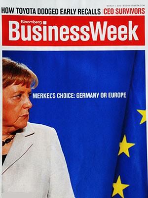Merkel Cover Business Week, Business Week