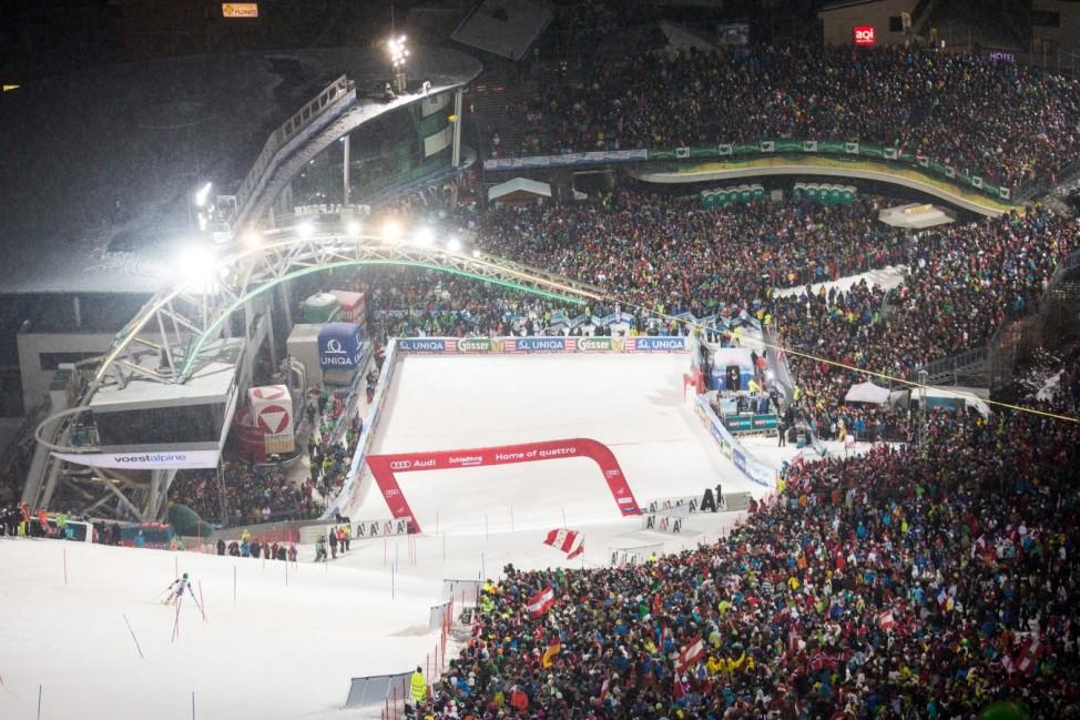 Men's Slalom in Schladming; Schladming Planai World Cup Weltcup Österreich