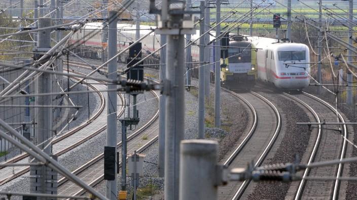 Lückenschluß Bahnausbau Augsburg- München