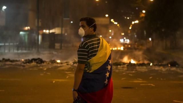 PROTEST AGAINST VENEZUELAN GOVERNMENT