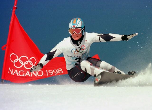 CANADIAN ROSS REBAGLIATI WINS GOLD IN OLYMPIC SNOWBOARDING