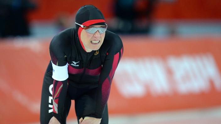 Eisschnellläuferin Claudia Pechstein