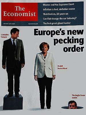 Merkel Cover, The Economist