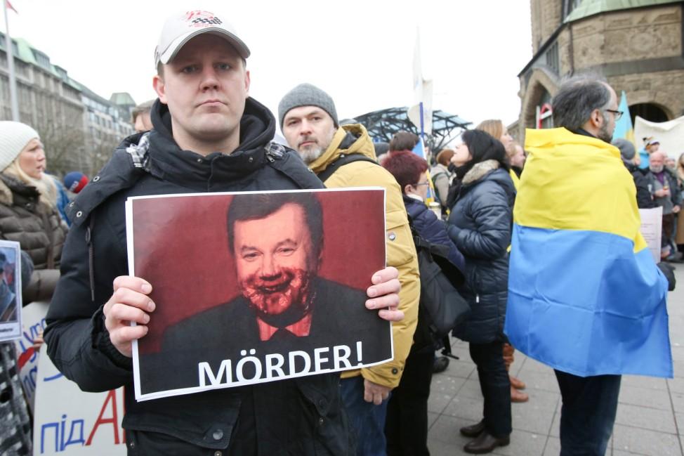 Demonstration zur Situation in der Ukraine