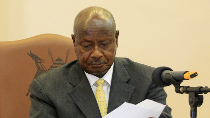 Uganda; Museveni; Gesetz; Homosexuelle