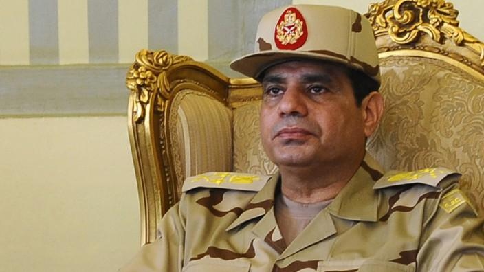 Ägyptens Militärchef Abdel Fattah al-Sisi im Mai 2013