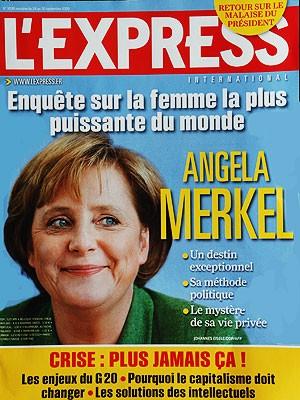 Merkel Cover, L'express