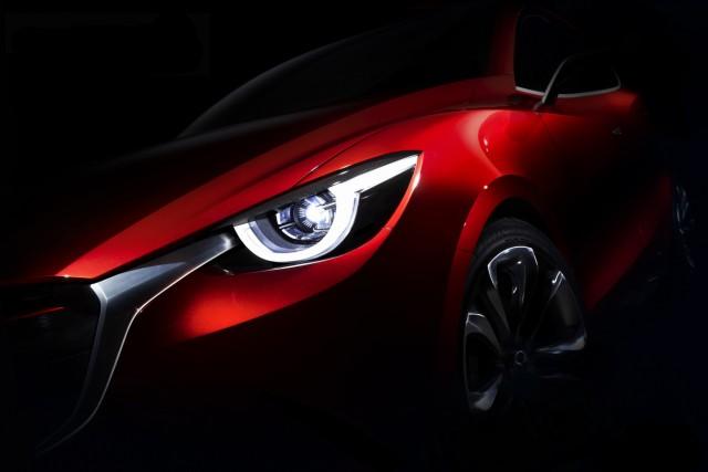 Scheinwerfer des Mazda Hazumi