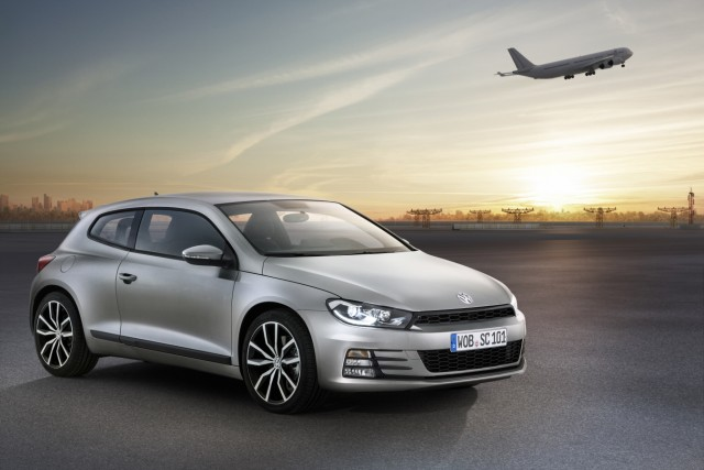 VW Scirocco Facelift