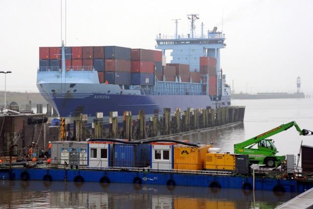 Dobrindt besucht Nord-Ostsee-Kanal