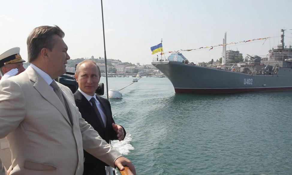 Russian President Vladimir Putin visits Ukraine
